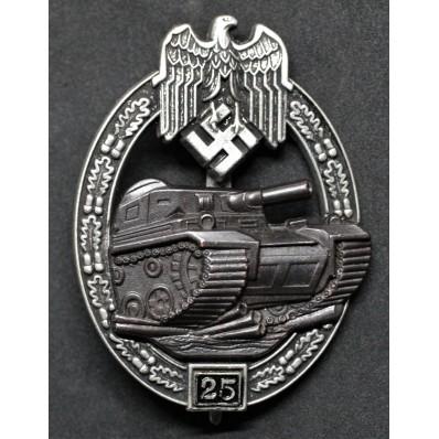 Panzer Badge - 25 Assaults