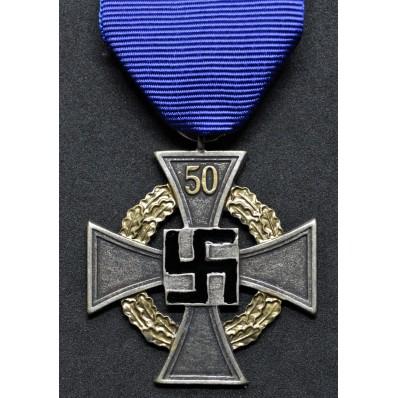 Faithfull Service Decoration For 50 Years
