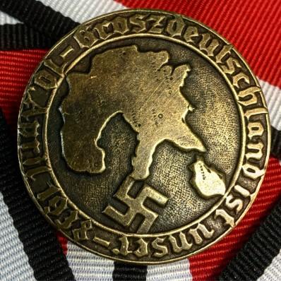 German Politician Badge