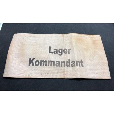 Armband - Lager Kommandant