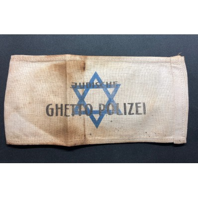 Armband - Judische Ghetto Polizei