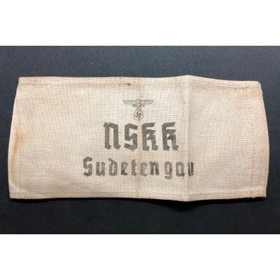 Armband - NSKK Sudetengau
