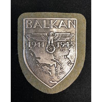 Balkan-Schild 1944-1945