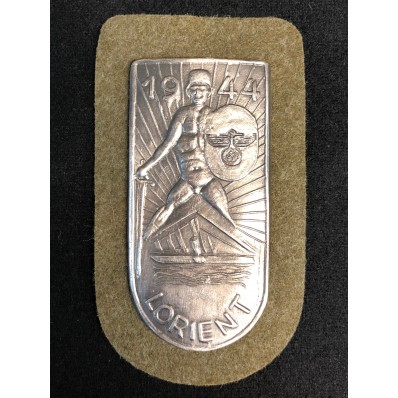 """""""Lorient 1944"""" Battle Shield"""