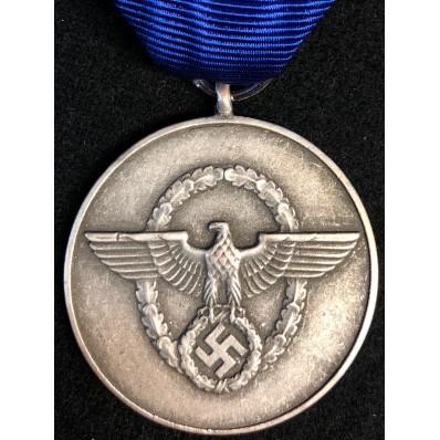 Medaglia di Lungo Servizio nella Polizia di 3a Classe - 8 Anni