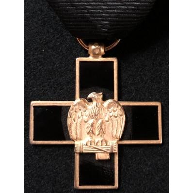 Croce per i veterani del 1° Battaglione Camicie Nere in Africa