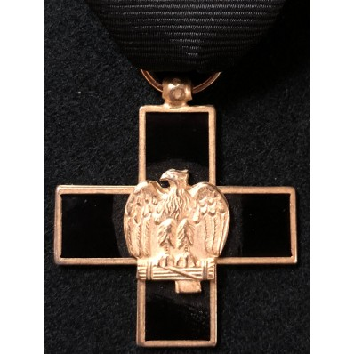 Cross for Veterans of the 1st Black Shirt Battalion in Africa