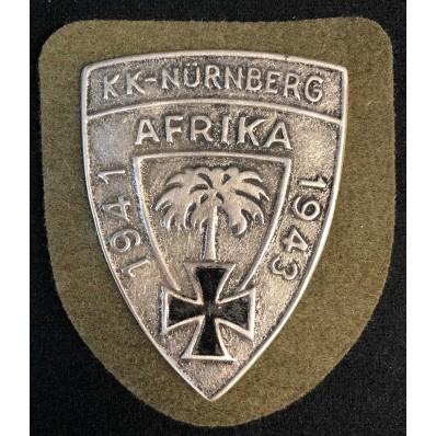Scudetto Commemorativo - KK-Nürnberg Afrika 1941-1943