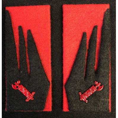 """Stoffabzeichen - Schwarze Brigade """"Aldo Resega"""""""