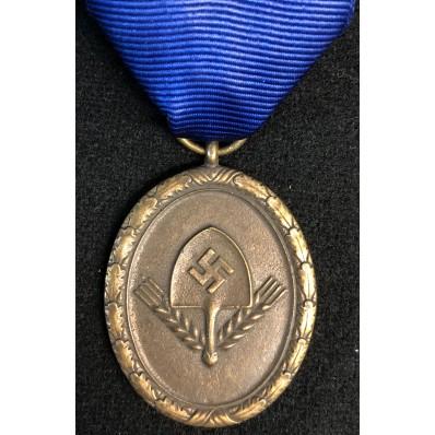 Dienstauszeichnung für den Reichsarbeitsdienst 4. Stufe - 4 Jahre (Bronze)