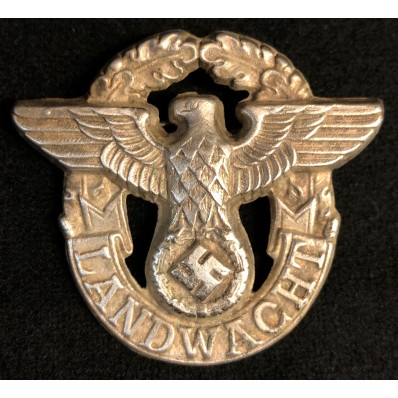 Hilfspolizei Cap Badge