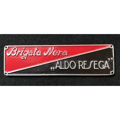 "Placchetta della brigata nera ""Aldo Resega"""