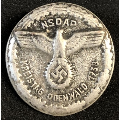Badge Kreistag Odenwald 1938
