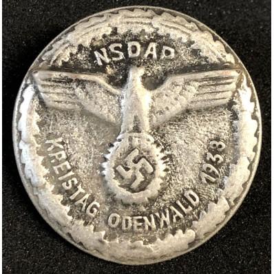 Distintivo Kreistag Odenwald 1938