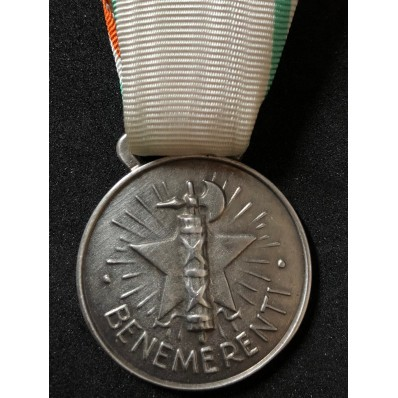 Medal to the praiseworthy of the italian Red Cross (Silver)