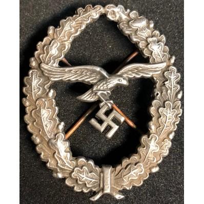 Schützenschnur Auflage Heer Badge