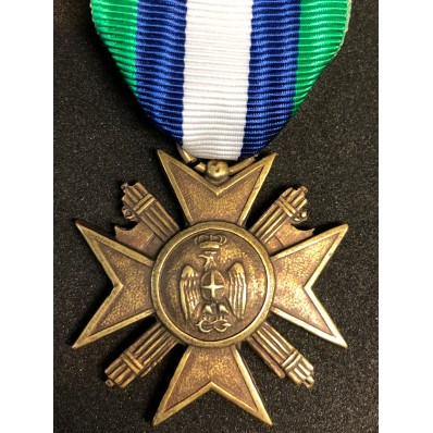 """Cross for 10 Years of Seniority in the Italian Africa Police """"PAI"""""""