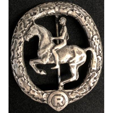 Deutsches Reiter Badge (Silver)
