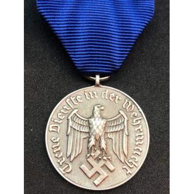 Medaglia di Lungo Servizio nelle Wehrmacht - 4 Anni