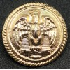 Uniform Button - Musketeers of Mussolini