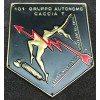 Scudetto - 101° Gruppo Autonomo Caccia Terrestre