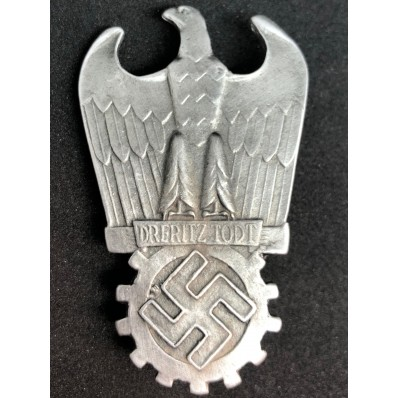 Dr. Fritz Todt Award (Silver)
