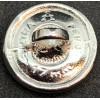 Bottone - Wehrmacht 16mm (Argento)