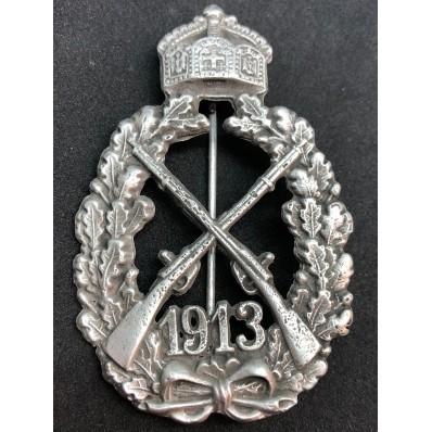 1913 Kaiserreich Schuetze Abzeichen der Infanterie