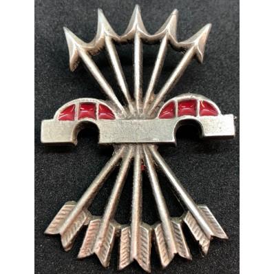 Badge for Falange fighters - Flechas Plateadas