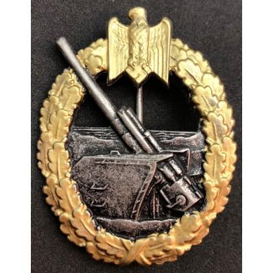 distintivo Per Combattenti Dei Reparti Di Artiglieria Di Marina