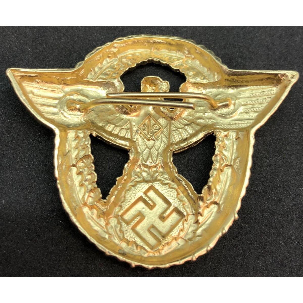 Eagle Cap Badge For Police Officers - War Militaria