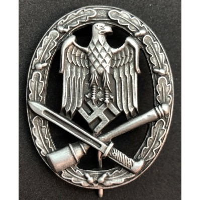 "General Assault badge (Mark ""Frank & Reif Stuttgart"")"