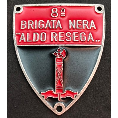 "Shield - 8th Black Brigade ""Aldo Resega"""