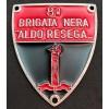 """Scudetto - 8ª Brigata Nera """"Aldo Resega"""""""