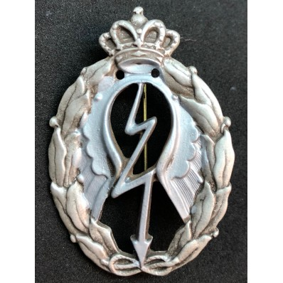 Badge for War Actions, Divers - of RR.AA. (Silver)