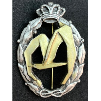 Badge for War Actions, Transport - of RR.AA. (Gold)