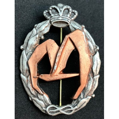 Badge for War Actions, Transport - of RR.AA. (Bronze)