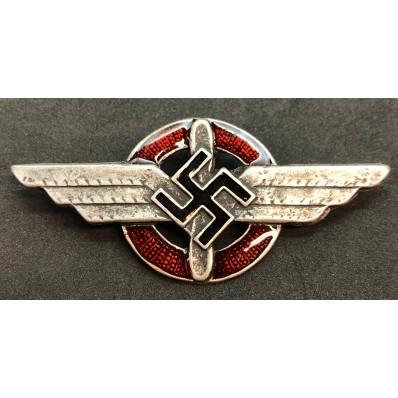 DLV (Deutsches Luft Verband) Pilot Hat Badge