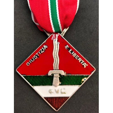 CVL Medal - Justice and Freedom