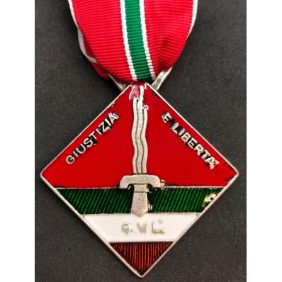 Medaglia CVL - Giustizia e Libertà