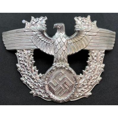 Police Hat Eagle (Silver)
