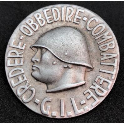 "G.I.L. Badge ""Credere Obbedire Combattere"""