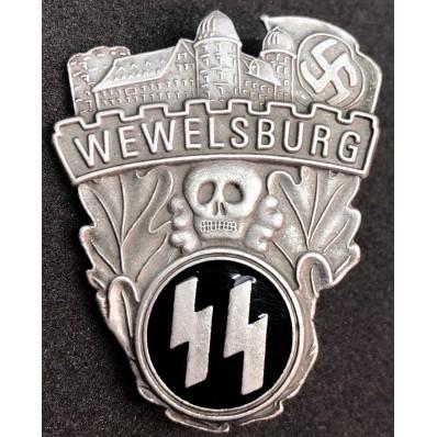 SS Wewelsburg Schloss Gedenkabzeichen