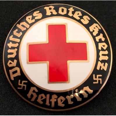 DRK Helferin - Rotes Kreuz abzeichen