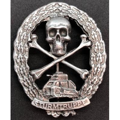 Panzer Badge (Silver)