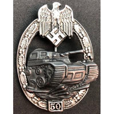 Distintivo Da Battaglia Per Carristi - 50 Assalti