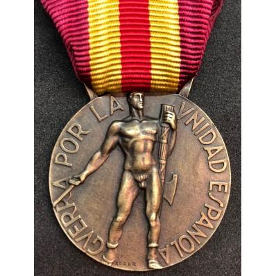 "Italo-Spanish contingent Medal ""Volontarios de Guerra"""