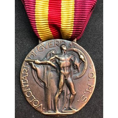Medaille für Krieg Freiwillige in Spanien OMS