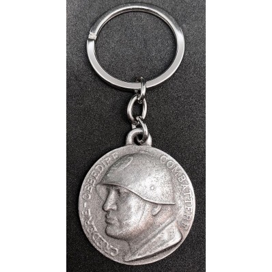 """Keyring - Mussolini """"Believe Obey Fight"""""""
