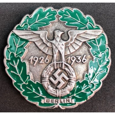 Badge Gau-Traditionsabzeichen Berlin 1936 (Silver)
